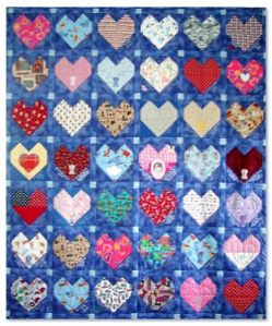 Congenital Heart Defect Quilt #14