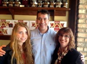 Sarah, David and Anna